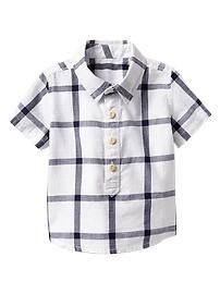 Checkered shirt  TREEHOUSE COORDINATING PIECES FOR BABY BOY