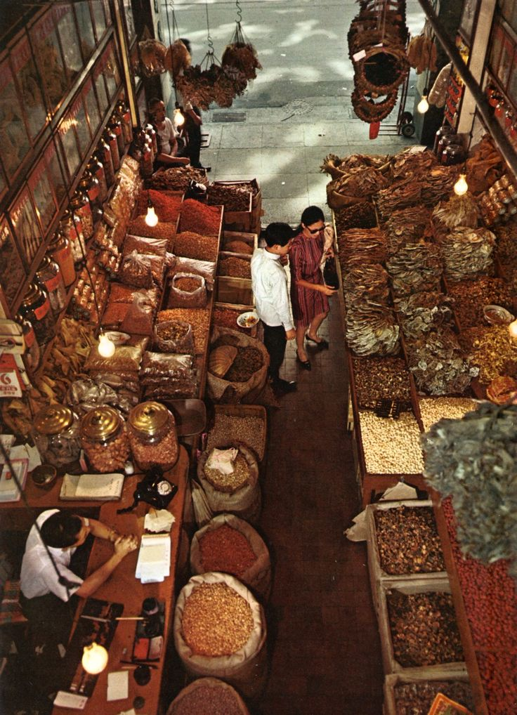 Dried food shop in Hong Kong, 1968Arielle Gabriel's new book is about miracles and her everyday life suffering financial ruin in Hong Kong The Goddess of Mercy & The Dept of Miracles, uniquely combines mysticism and realism *