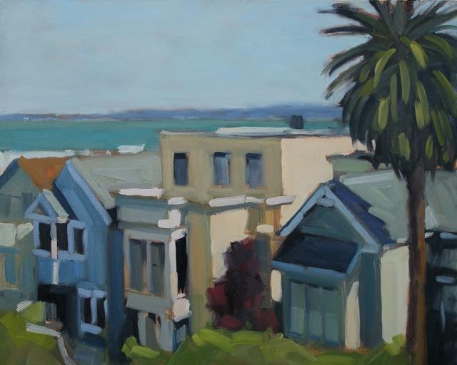 "Michael Chamberlain: ""Houses on Leavenworth""  (SF)"