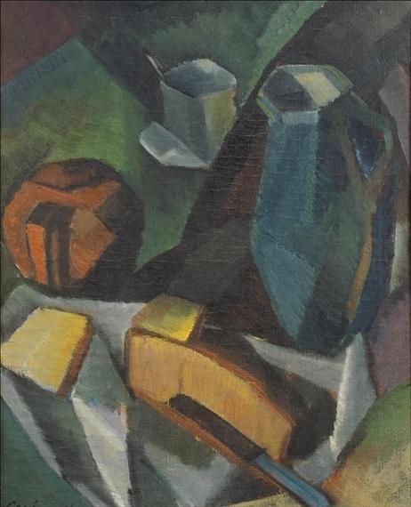 ALVAR CAWEN Asetelma (1916)