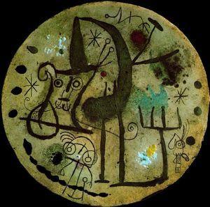 Joan Miro - Placa redonda                                                                                                                                                                                 Mais