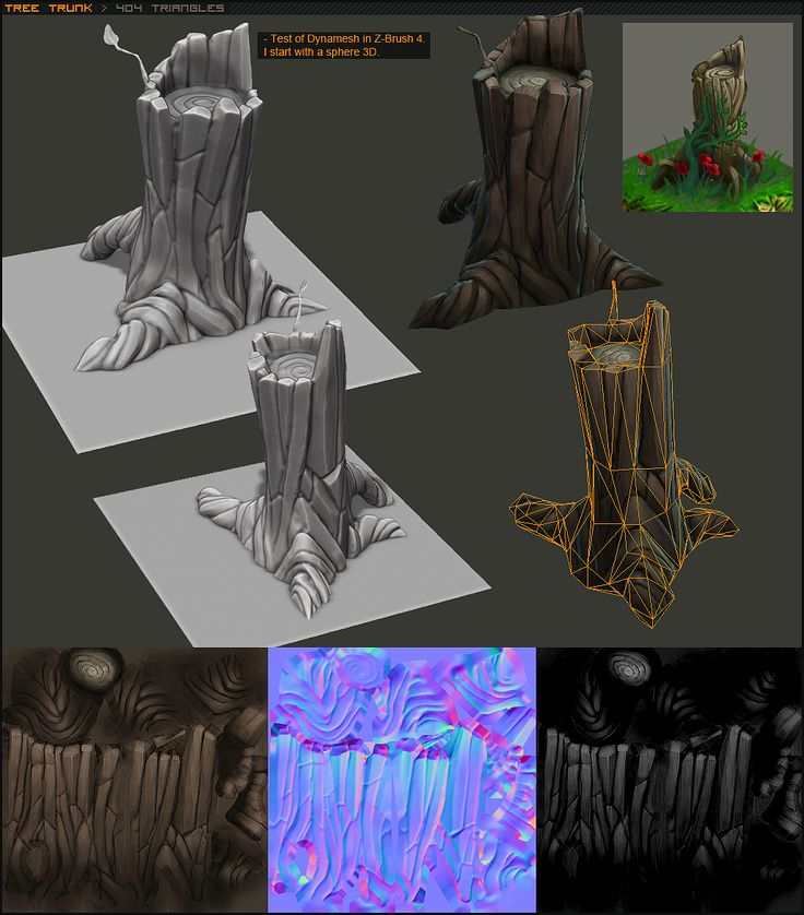 An example of a low poly prop designed in z-brush. The simplicity of the model along with how detailed it can be with it's very specific style make for an item of high impact that could be used in a number of places within an environment. (alloa, 2012)