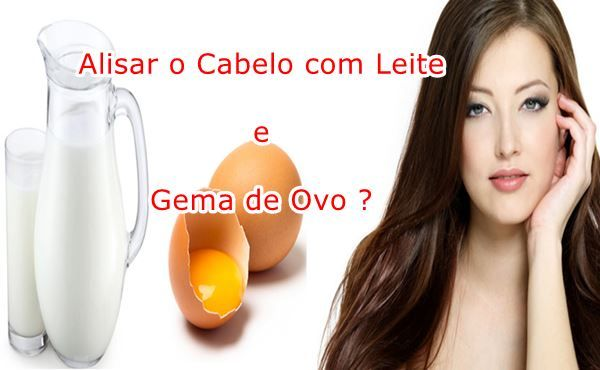 Como Alisar o Cabelo com Leite e Gema de  Ovo Passo a Passo Confira : http://www.aprendizdecabeleireira.com/2015/11/como-alisar-o-cabelo-com-leite-e-gema-de-ovo.html