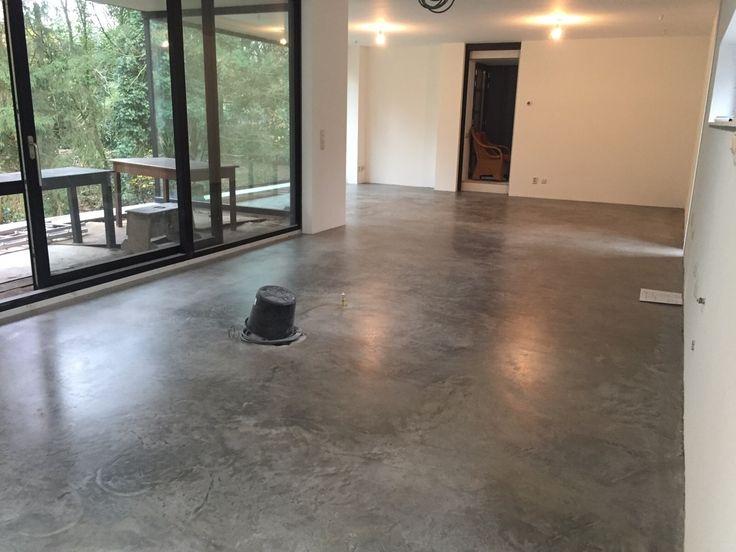 Mook betonvloer - Best Vloerrenovatie