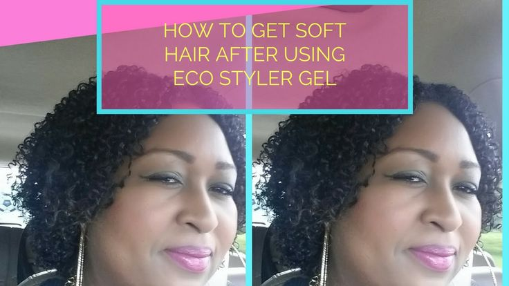 HOW TO GET SOFT HAIR AFTER USING ECO STYLER GEL | BREAKING THE CAST