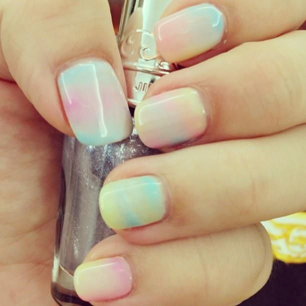 Sation Cotton Candy Nail Polish: 25+ Best Ideas About Cotton Candy Nails On Pinterest