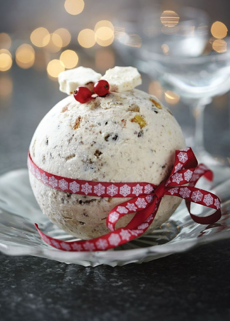 Perfect for Christmas – Christmas cake and marzipan ice cream by Julie Fisher | Cooked