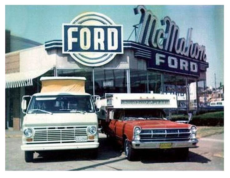 1967 McMahon Ford Dealership, St. Louis, Missouri New