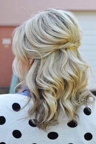 Süße Frisuren Für Schulterlanges Haar Bild 3 Frisuren