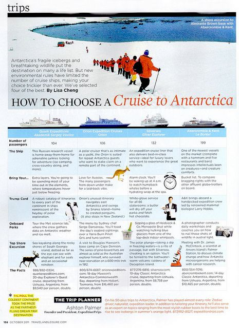 How to choose a Cruise to Antarctica by ExpeditionTrips - Bucket List Anyone??