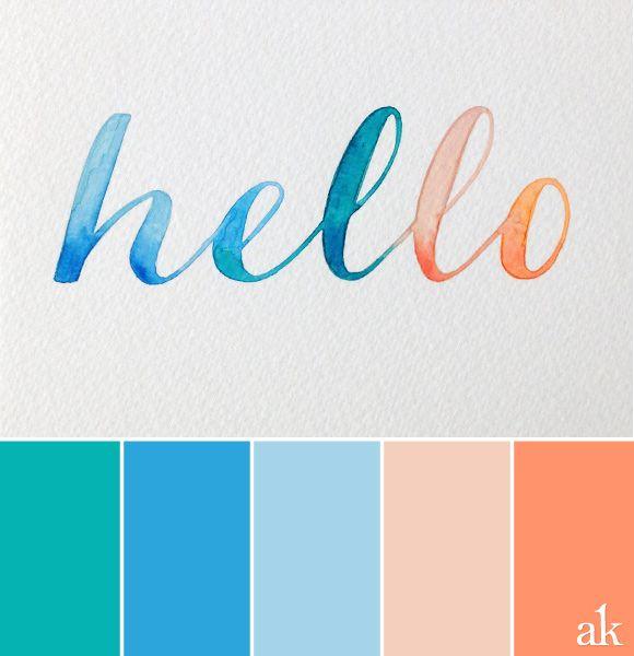Watercolor Palette The Perfect Palette Pinterest