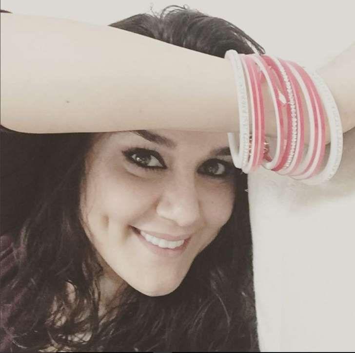 New bride Preity Zinta flaunts her choora on Instagram