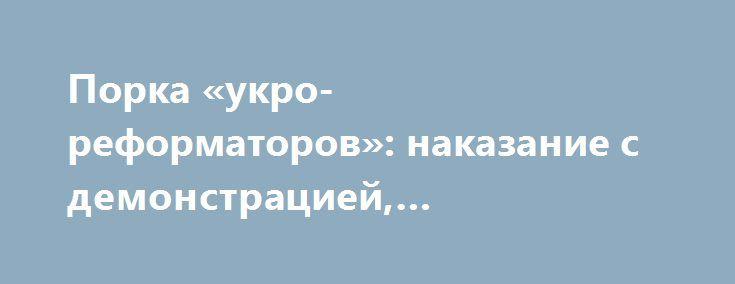 Порка «укро-реформаторов»: наказание с демонстрацией, одобренной в США? http://rusdozor.ru/2017/07/14/porka-ukro-reformatorov-nakazanie-s-demonstraciej-odobrennoj-v-ssha/  Нет никакого смысла перечислять успехи, когда нужно подсчитывать провалы и анализировать, почему они (провалы) случились. Так, если коротко, можно резюмировать итоги 19-го по счёту саммита Украина – ЕС 12-13 июля 2017 года. Стороны, излучая дежурную «верность дружбе и европейскому выбору» ...
