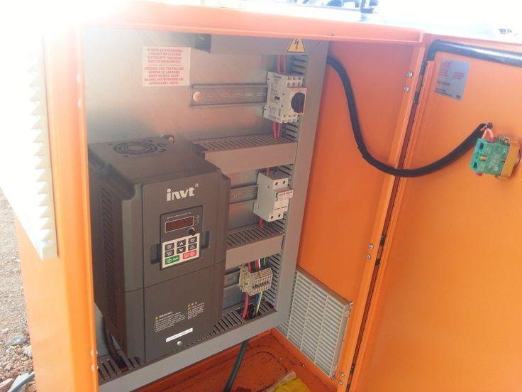 Solar VSD PV Pump - ABC Pumps & SMi Electric SMARTMULTI - http://www.smartmulti.net/wp/solar-vsd-pv-pump-abc-pumps-smi-electric-smartmulti/