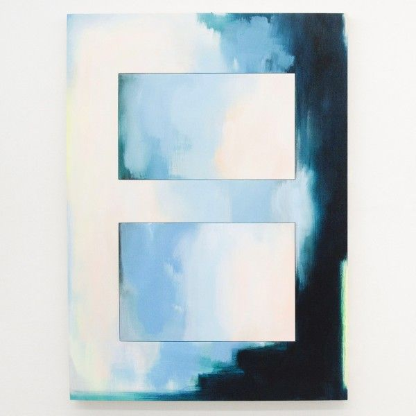 Esther Tielemans - Untitled 8 - 180x135cm Acrylverf op multiplex