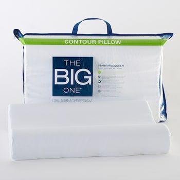 The Big One® Gel Memory Foam Contour Pillow