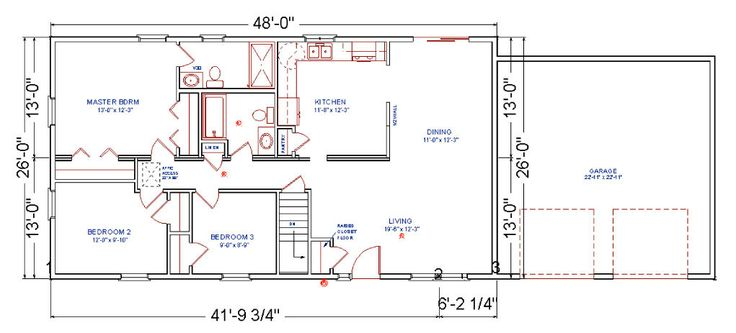 28 X 40 Floor Plans With Attached Garage Yahoo Image Search Results Pinterest Ranch House Cabin And Small