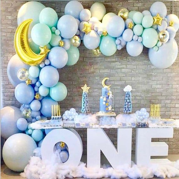 pink /& blue Details about  /Gender Reveal Party Supplies Kit Decoration for Boy or Girl Banner