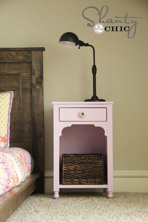 best 25 nightstand plans ideas on pinterest night stands diy diy nightstand and diy wood. Black Bedroom Furniture Sets. Home Design Ideas