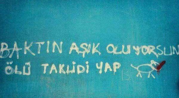 Duvar yazıları: