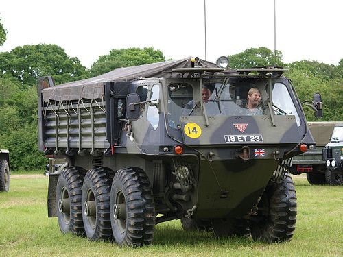 Military Trucks | Stalwart FV620 Amphibious Military Truck