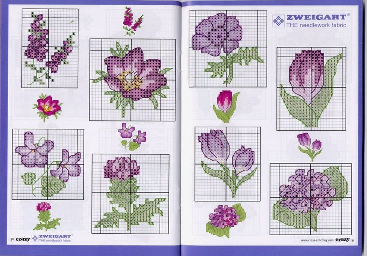 Purple flowers 2  Gallery.ru / Фото #4 - 101 цветок - livadika
