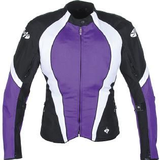 Purple Motorcycle Jacket... you know, for if we ever did decide to get one this would be the jacket I'd want ;)