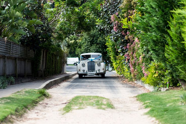 Bride and Vroom wedding car hire Sydney. Princess Vanden Plas Limousine. Photo by Cameron Mackie.