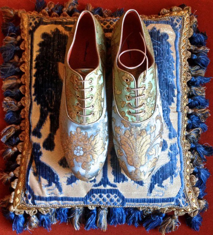 Making A Splash - Santoni x Rubelli Shoes