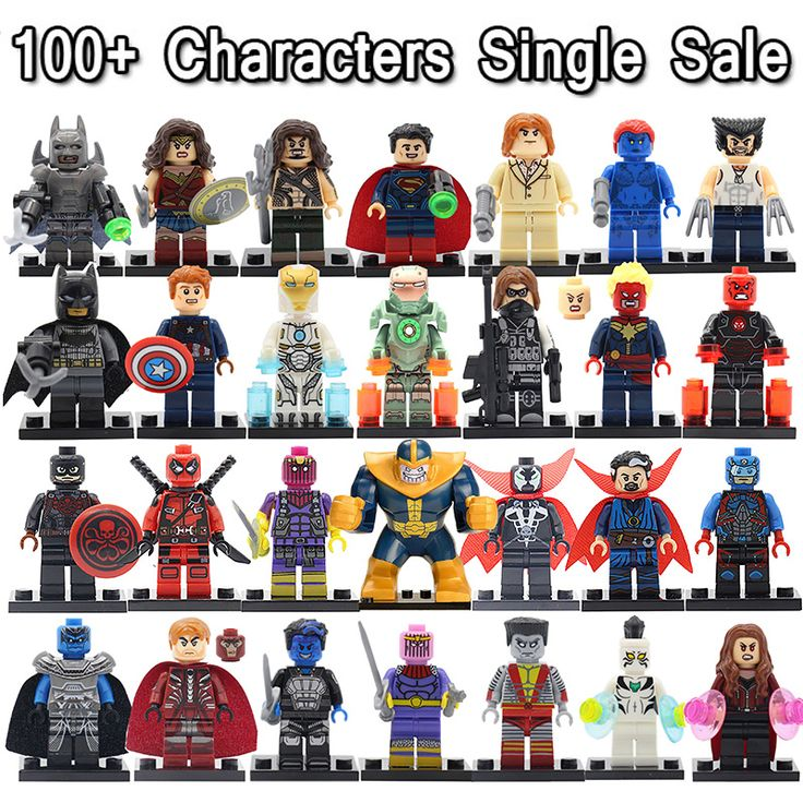2016 Newest Minifigures For Individually Sale Marvel DC Super Heroes Avengers Batman Iron Man Building Blocks Toys #>=#>=#>=#>=#> Click on the pin to check out discount price, color, size, shipping, etc. Save and like it!
