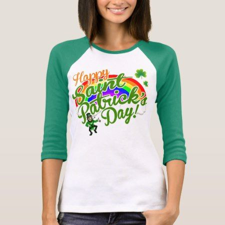 Happy St. Patrick's Day T-Shirt - click to get yours right now!