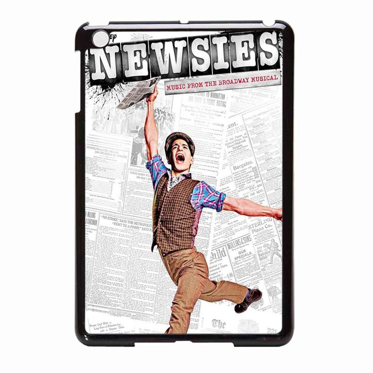 Newsies Broadway Musical 2 iPad Mini Case
