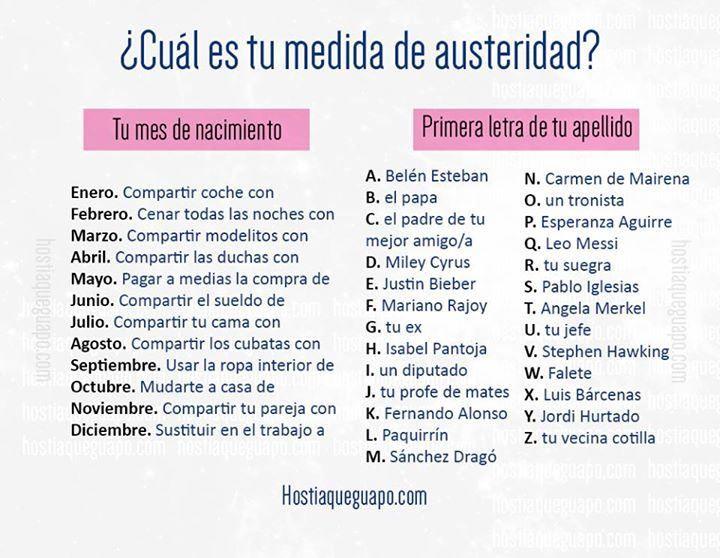https://flic.kr/p/FauWPv | ¿Cuál es tu medida de austeridad? | Juegos para compartir en las redes. Hostiaqueguapo.com