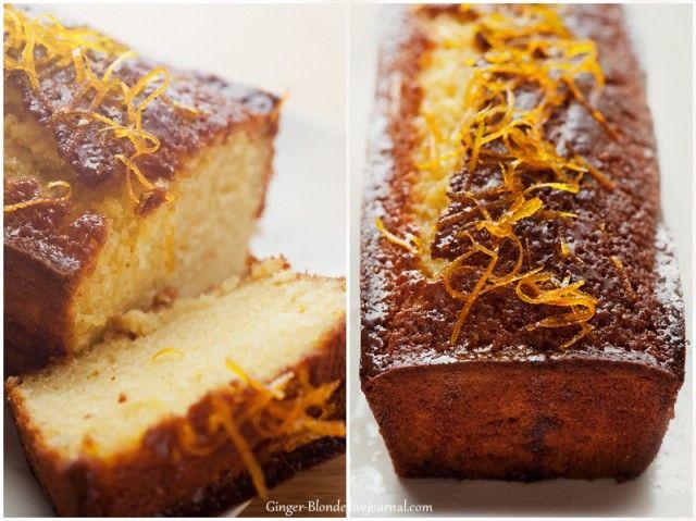 Ginger - Апельсиновый кекс с пропиткой