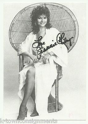 JEANNIE RILEY MAN FROM UNCLE TV & MOVIE ACTRESS AUTOGRAPH SIGNED PHOTO PRINT
