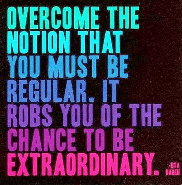 Inspiring the extraordinary