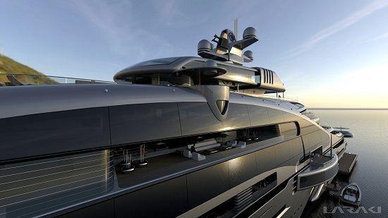 Laraki Yacht Design unveils 163 metre Prelude - New Designs - SuperyachtTimes.com
