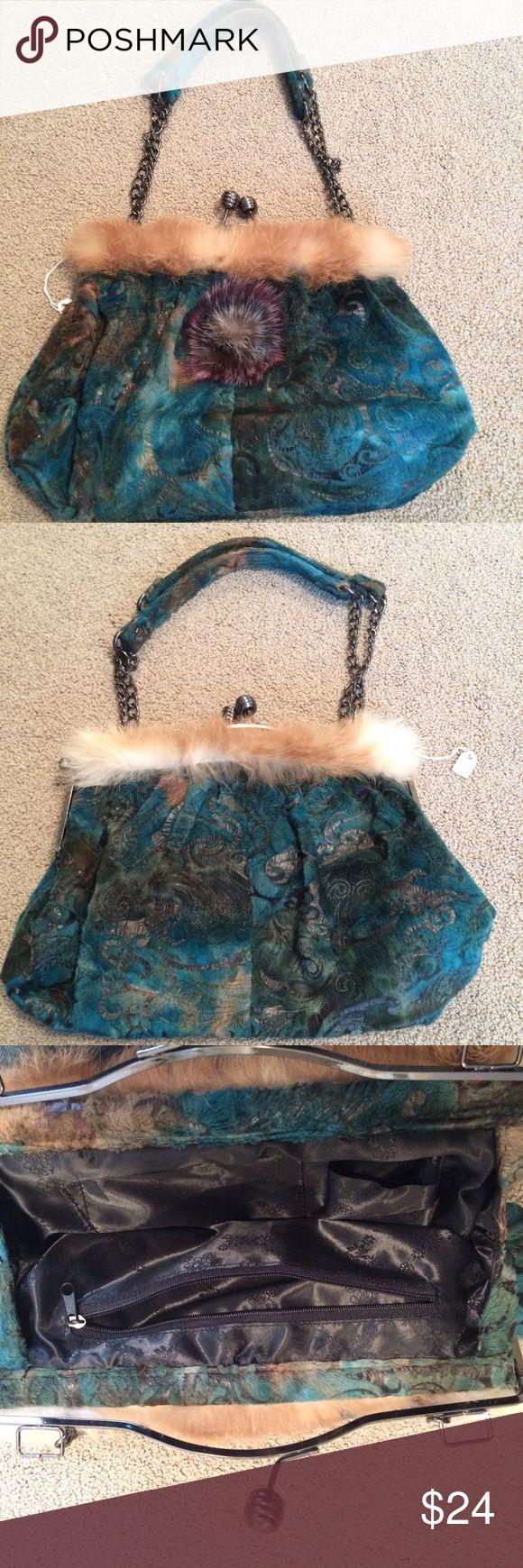 Vintage design handbag Fun, colorful brand new with tag vintage look handbag. Other