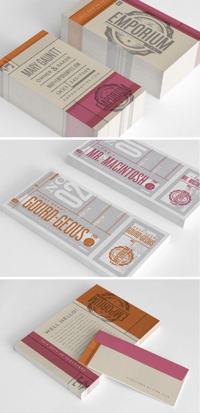 Emporium branding identity