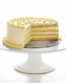 Genoise with Passion Fruit Swiss Meringue Buttercream - Martha Stewart Recipes