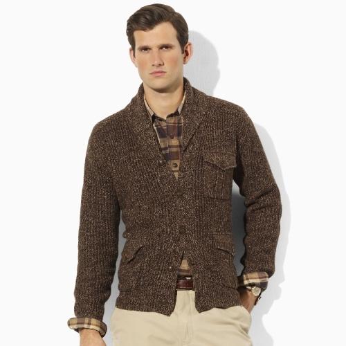 Strickjacke mit Schalkragen - Pullover Herren - Ralph Lauren Deutschland