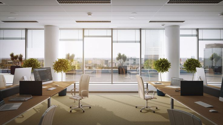 Office interior in Proximo II
