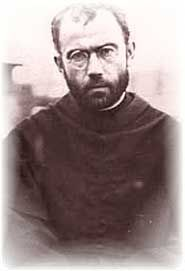 St. Maximilian Kolbe. A Polish Franciscan friar, Max was active in the Polish underground during WWII. Captured and sent to Auschwitz in 1941, he watched as ten men were selected for death after the supposed escape of another inmate. Knowing one of the men had a family still alive on the outside, St. Max volunteered to die in his stead. His offer was accepted, and he, along with the other nine, was starved for weeks, then killed by an injection of carbolic acid. He was canonized in 1982.