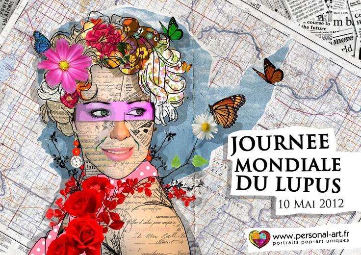 Journée Mondiale du Lupus  10 mai 2012  par www.personal-art.fr