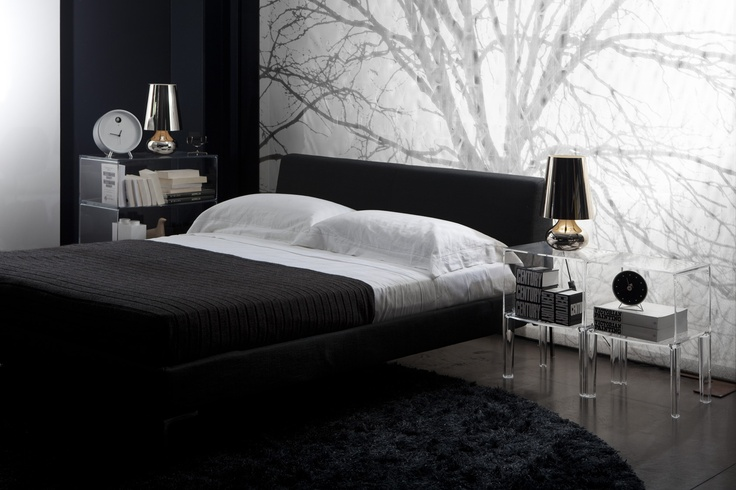 Kartell Complete Bedroom Package 2 x Small Ghost Buster Bedsides, crystal or smoke 1 x Ghost Buster Storage Unit, crystal or smoke 2 x Cindy Lamps, platinum or gunmetal RRP $3,035 Now $1,995