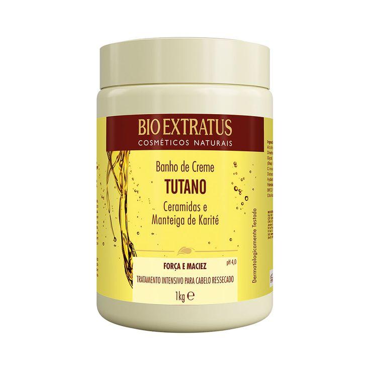 Banho Creme Bio Extratus Tutano Banho De Creme Produtos Para