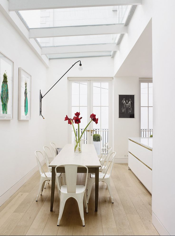 home of designer Harriet Anstruther - a mid-19th-century house in London that she shares with her husband, the photographer Henry Bourne