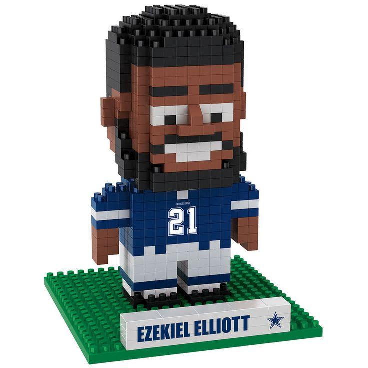 Ezekiel Elliott Dallas Cowboys Player BRXLZ Puzzle