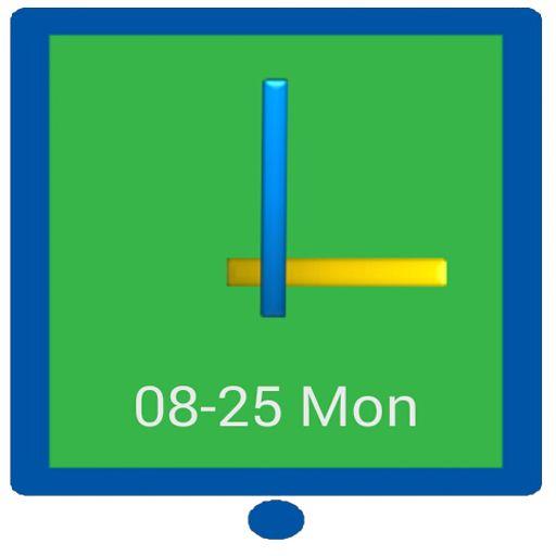 StayOn - Keep Screen Widget ☆Simple & Easy Stay On Clock Widget☆