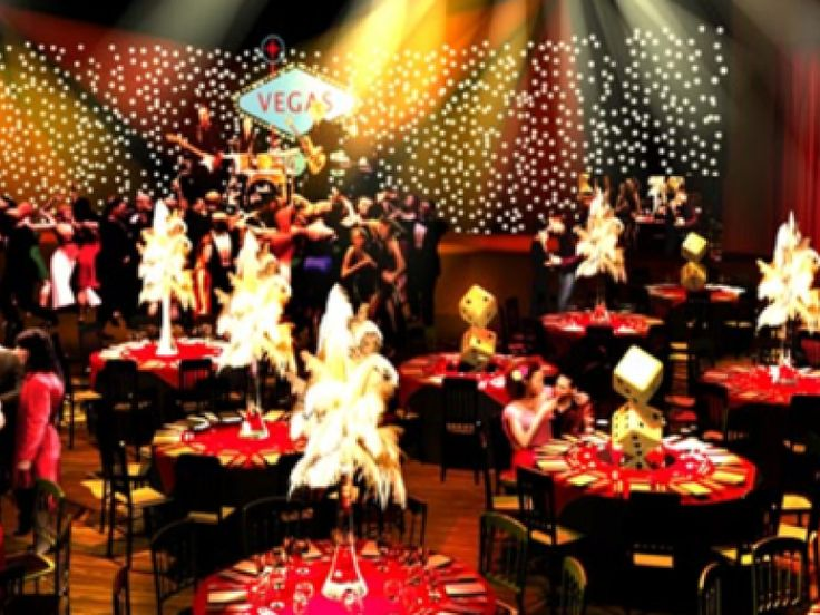 Vegas themed party google search vegas party for When does las vegas decorate for christmas